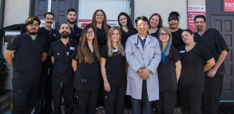 Our Staff at Central Orange County Animal Hospital